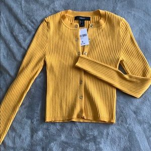 Nwt fitted button up cardigan